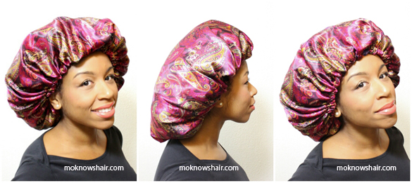 Protect your hair with satin accessories!