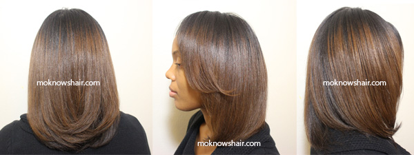 Straightening And T Transitioning Hair
