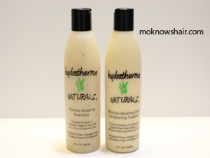 Hydratherma Naturals Moisture Boosting Shampoo and Deep Conditioning Treatment