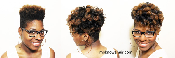 Scalp Treatment Regimen And Flexi Rod Set On Type 4