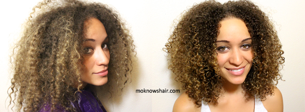 How To Style Curly Hair Routine
