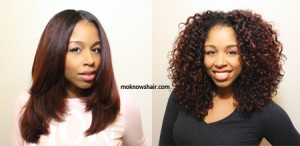 From Straight Roller Set Wrap To Wavy Curly Wash N Go