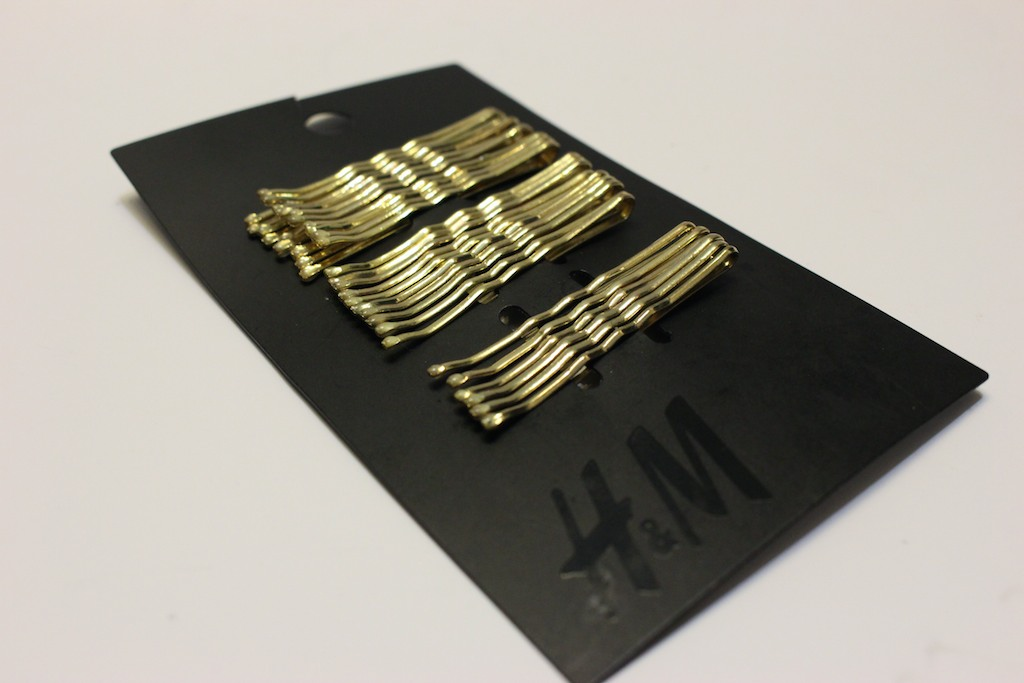 Metallic Pins, H&M