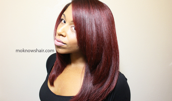 Get beautiful, straight hair with my roller wrap method.