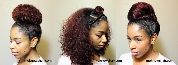 See How To Create African Inspired Hairstyles On Natural Hair