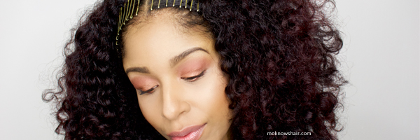 See An Easy Travel Hair Style For Curly Hair Using Aveda Products